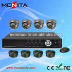 4CH Dome Camera CCTV System