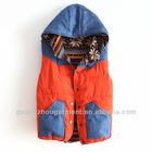 2012 lady fashion garment cheap cotton winter vest