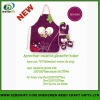 2013 newset heart transfer apron for promotion