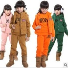2012 winter hot sale-- lovely and pretty, girls' cotton suit
