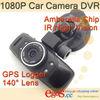 GS5000 Full HD Car Blackbox Camcorder Support GPS Logger G-sensor
