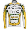 pro team long sleeve cycling jersey