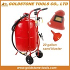 20 gallon 76L aluminum oxide sand blasting, sand blasting, sand blasting machine
