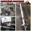 screw and barrel for high quality recycled hdpe granules