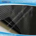 Black 3D carbon fiber sticker vinyl film for car wrapping 1.27x30m