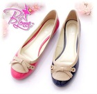 2011 Korean version Korean version of sweet new flat with patent leather shoes casual comfort shoes