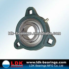 Bearing pedestal with 3 square thread holes FCT Series
