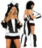 sexy hot fox fancy costumes for 2012 halloween