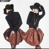 2012 women's conciseness plaid skirt