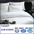 YAGAO duvet cover set, pillow case, hotel linen 3CM STRIPE