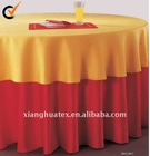 polyester sateen table overlay