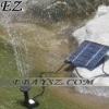 Solar Brushless Pump For Water Cycle/Pond Fountain/Rockery Fountain &DZ-0346