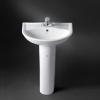 Wash Basin & Pedestal HDLP233