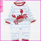 2012 new design new cute arrival animal print newborn baby clothing