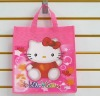 cute eco shopping bag , wholesale with printed shopping bag