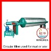 800 Circular mud/wax filter press