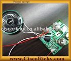 message and voice recordable module chip for toy