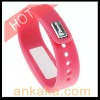 Incoming Phone Call Vibrating Alert Device Pink Bluetooth Bracelet for Mobile Phones