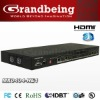 HDMI Matrix 4x4 HDCP compliant,3D support.