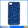 Deep Blue Leopard HARD CASE COVER for Apple iPhone 4 4G