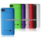 New External Backup Power Battery Charging Case Cover For Apple iPhone 4 4s