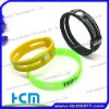 Wholesale power hologram silicone bracelet