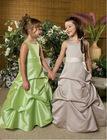Vintage Long Ruffle Flower Girl Dresses Girl Party Dresses
