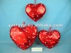 fangle stuffed plush toy heart cushion & pillow