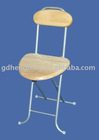 wooden padding foldable chair