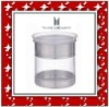 2011 New stainless steel jar with plastic lid