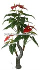 artificial flower tree ,artificial anthura plants