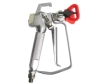 Piston airless power spray gun