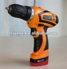 10.8V=12V max DC drill model:T2SR12-2LI
