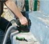 a new good quality concrete grinder (MK-150)