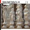 Four season stone sculpture