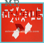 Minrui Fragile Paper, Self Adhesive A4 Sheet Brittle/Fragile Paper