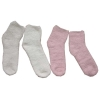 100% poleyster lady's soft yarn indoor sock with pvc dot