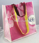 2013 short and long handle pet non- woven cloth carry bag