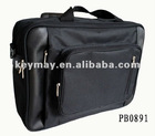 Top Quality Popular Men Black Fabric Laptop Carrier Bag Canvas Leisure Bag