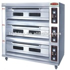 electric 3 layer bakery oven
