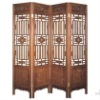 chinese style wooden screen divider