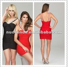 Free Shipping Red And Black Homecoming Dresses Under 50 Designer short bead design evening dress