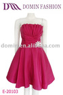 Elegance mini Chic Lady Prom Dress with elegance