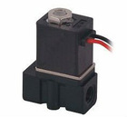 2P Model Engineering Plastic Body 2 Way Electric Solenoid Valve 2P025-06 Direct Acting G1/8'' DC12V Lead Wire