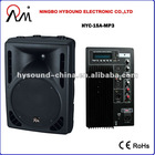 "15"" active speaker box with MP3 HYC-15A-MP3"