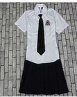 100% cotton fashion school uniform