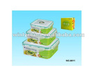 pp lunch box set food storage box seal box