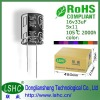 6.3*12mm 2000h low volt 33uf 50v capacitor for UPS