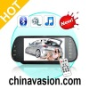 7 Inch Handsfree Bluetooth Rearview Mirror Monitor and Multimedia MP4 Player
