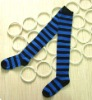 Woman's stripe stockings